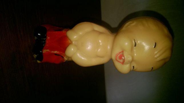 Пластиковая фигурка мальчика, периода СССР.