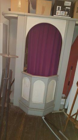 Konfesjonał świeczniki oraz lampiony do podarowania