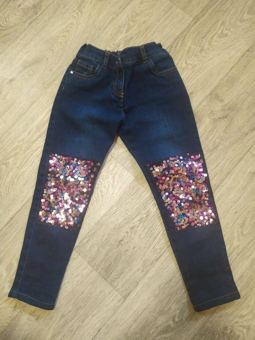 Джинсы F&F , штаны на девочку Запорожье - изображение 1