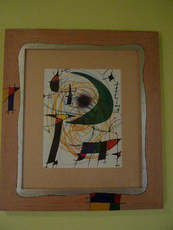 Kandinsky - obraz abstrakcja w ramie: Galeria Ambiente prezent
