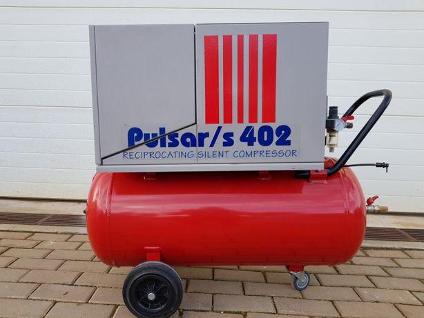 Compresor Fini Pulsar/s 100L, reciprocating silent compressor