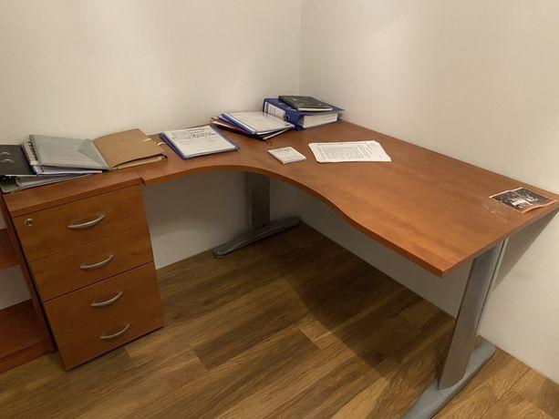 Biurko narozne, biurko prostokatne