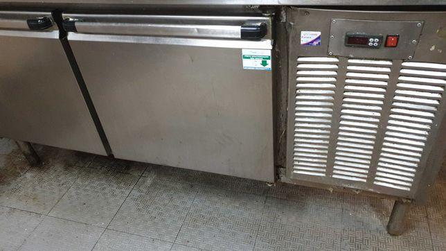 Bancada inox frigorifica