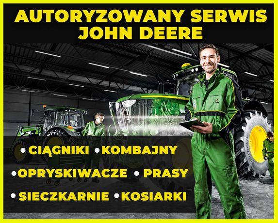 Naprawa, serwis, przeglądy maszyn John Deere