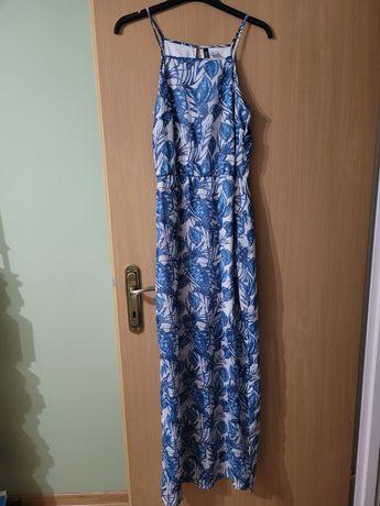 Długa sukienka letnia
