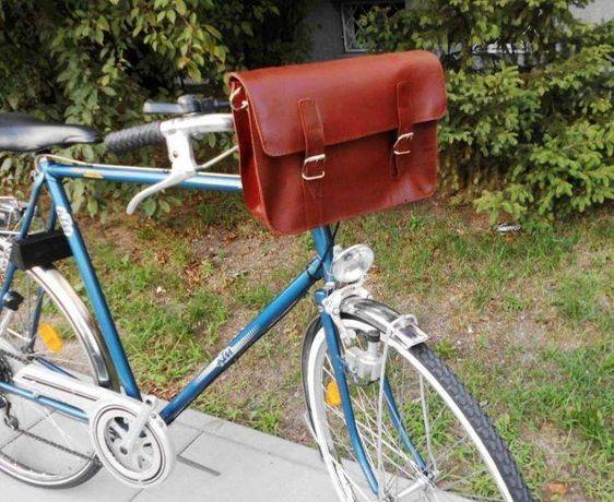 Torba skórzana do roweru - to elegancja i szyk w rowerowym świecie