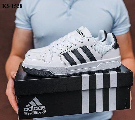 Adidas Forum (черно/белые)