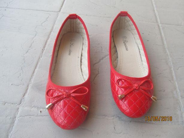 Buty damskie czerwone, rozm.37