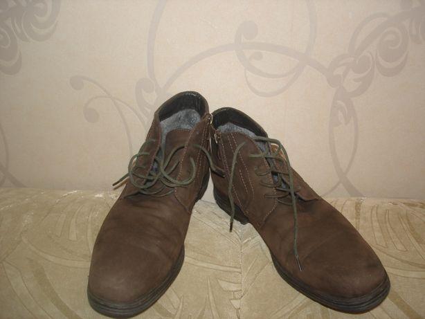 Ботинки мужские CHESTER р.42 (для узкой ноги р.43)