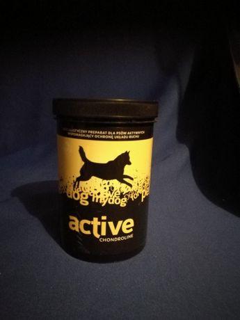 suplementy diety BARF firmy Pokusa chondroline active, kryl, drożdze