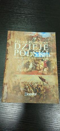 Dzieje Polski Od początku Piastów - Feliks Koneczny - Nowa tanio