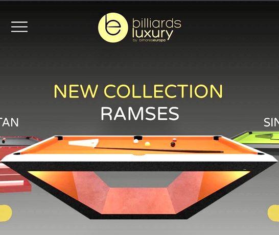 Factory Billiardsluxury new billiards made in Portugal
