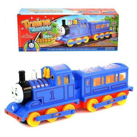 Детский музыкальный поезд Томас Train Thomas, музыкальный паровозик