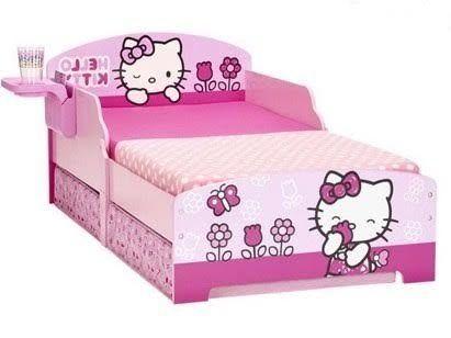 Детская кровать Hello Kitty+Бесплатная доставка Новой почтой