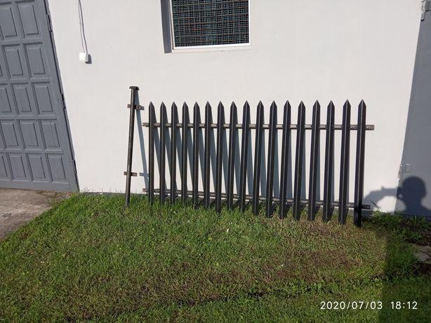 Płot stalowy + brama