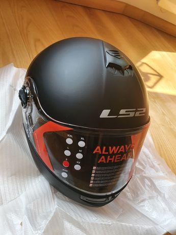 Kask Ls2 Strobe r S 55-56 motocykl czarny mat