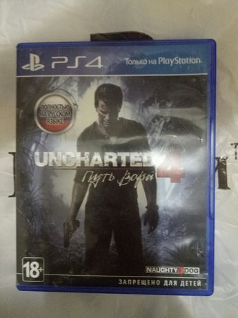 Uncharted 4 игра Sony PlayStation
