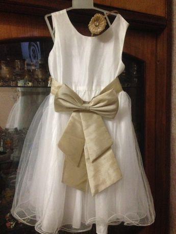 Біле платтячко