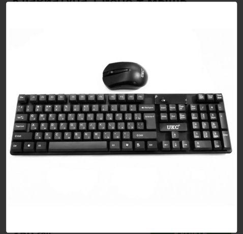 Клавіатура безпровідникова беспроводная мышка Bluetooth блютуз