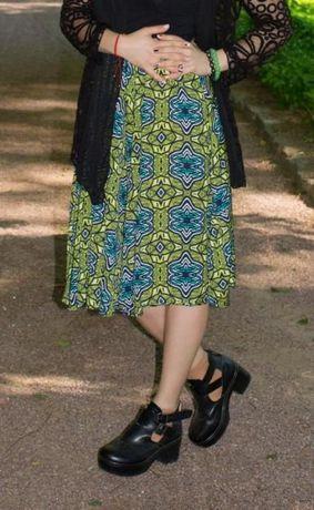 стильная юбка stradivarius