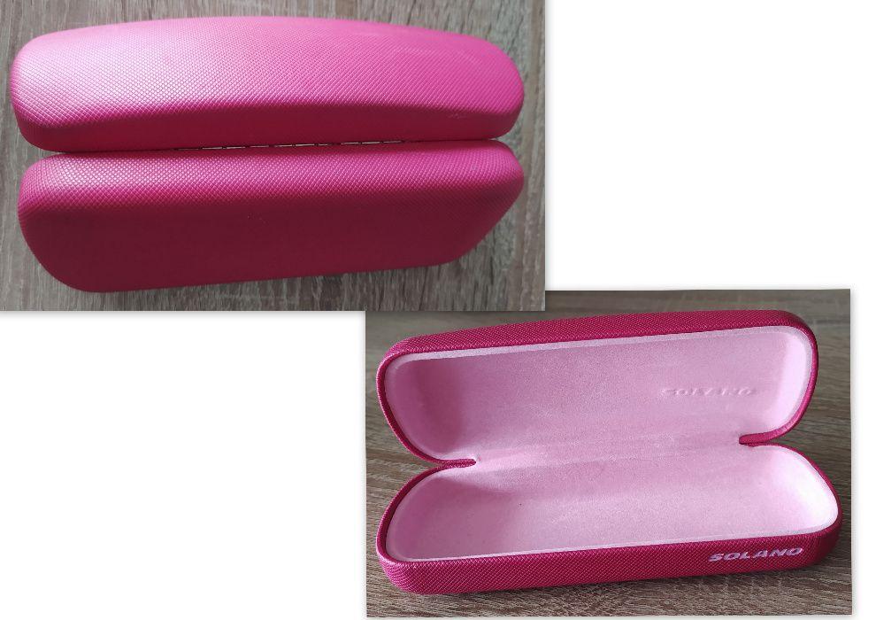 różowe etui na okulary SOLANO Ostróda - image 1