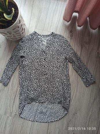 Bluzka koszula pepco rozmiar 38 panterka 3/4rekaw