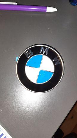 ORGINALNY, Emblemat znaczek Logo BMW 82mm ZOSTAŁY 3 SZT
