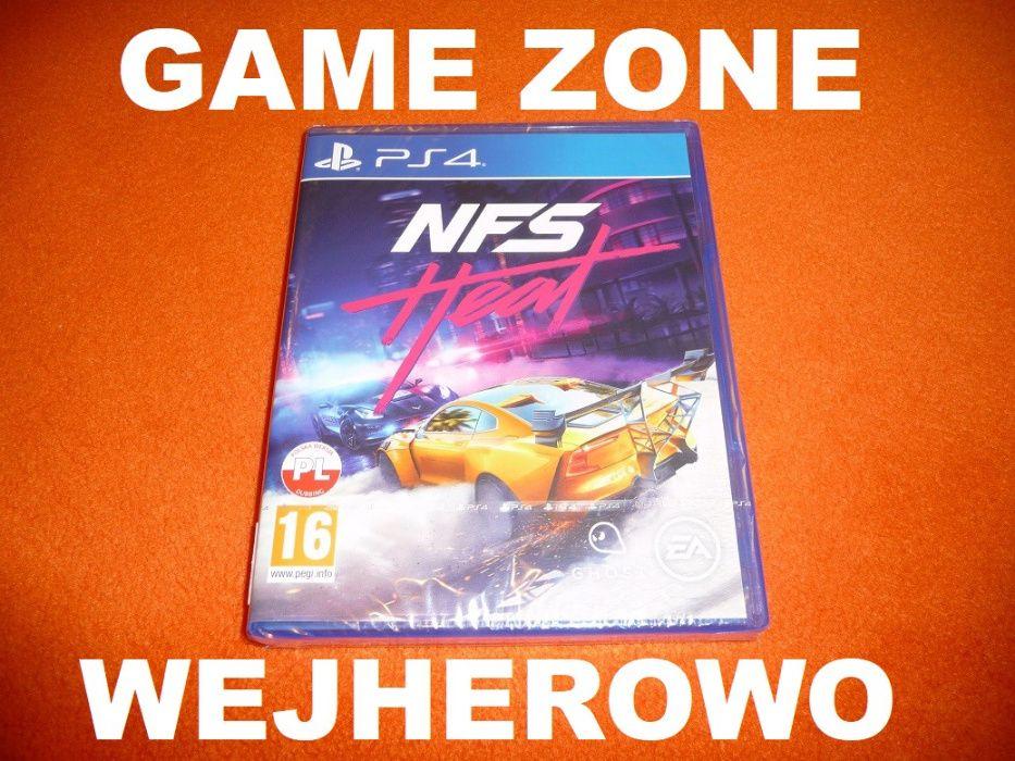 Need For Speed HEAT PS4 + Slim + Pro = PŁYTA PL = Wejherowo = NFS Heat