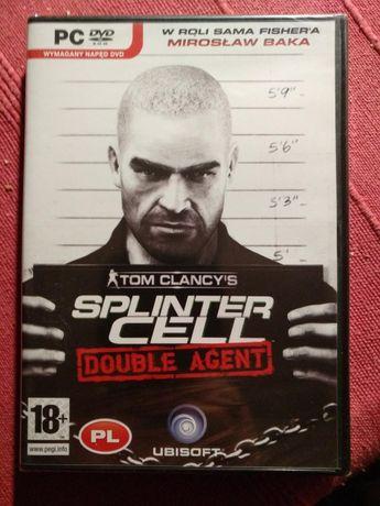 Splinter cell. Double Agent. PC. Wersja box. Nowa i fabrycznie zapakow