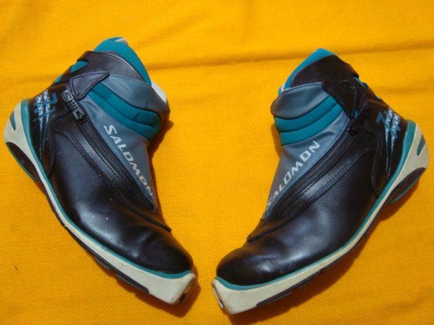 buty narciarske biegówki Salomon roz 43/ 28 cm/ profil SNS