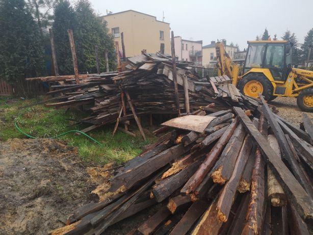 DRZEWO OPAŁOWE drewno z rozbiórek (nie lakierowane)