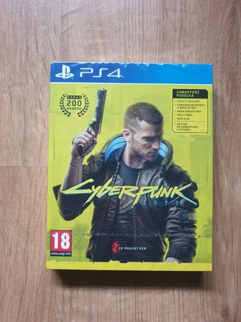 NOWY Cyberpunk 2077 PS4 PS5 PlayStation 4 5