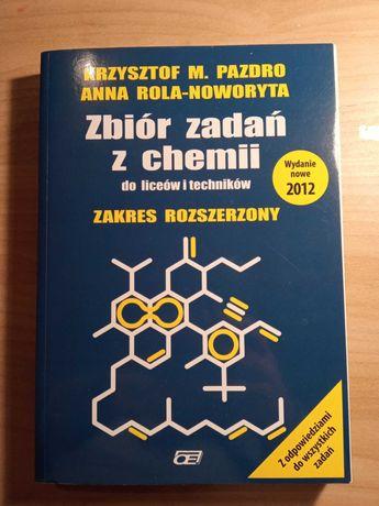 Zbiór zadań z chemii z. rozszerzony Pazdro