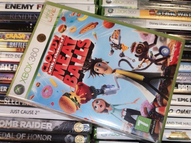 Cloudy Meat Balls Xbox 360 Super stan Dla dzieci