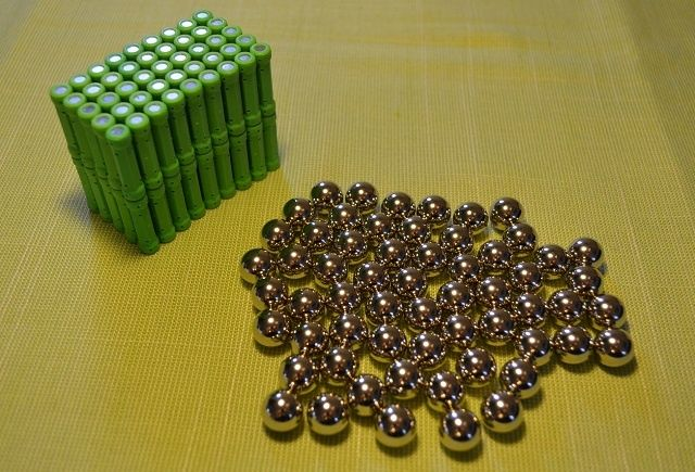 Klocki magnetyczne 150El. kompatynilne z Geomag