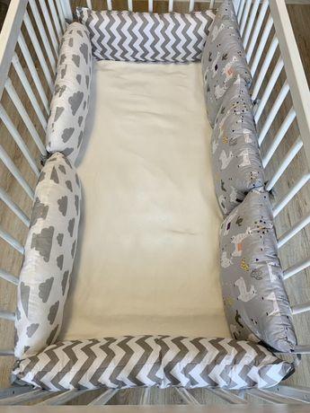 Ochraniacz do łóżeczka. Poduszki ochronne. Poduszki dziecięce.