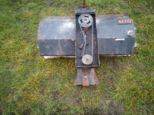 Kosiarka traktorek MTD zamiatarka odśnieżarka