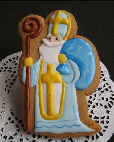 Пряники на День Святого Николая