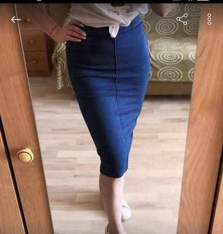 Продам джинсову юбку