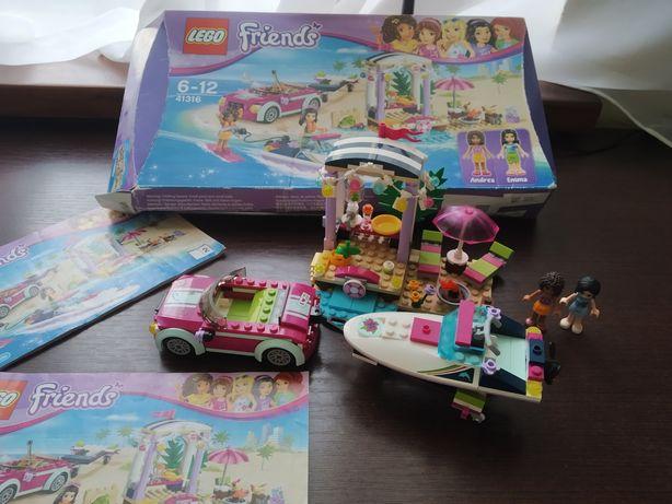 Lego Friends 41316. Швидкісний катер Андреа. 309 деталей. В ідеалі!