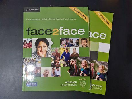 Face2face Advanced English Book + Workbook