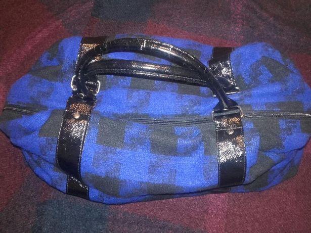 ATMOSPHERE torebka typu koc granatowa A4