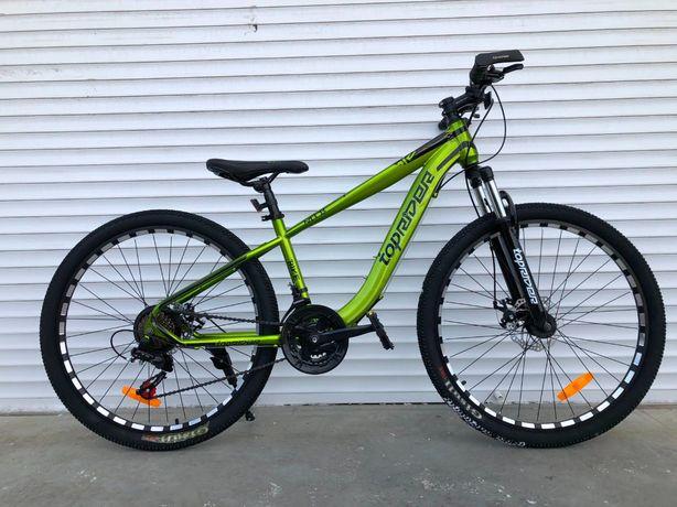 Велосипед МТБ спортивный 27.5 колеса, 16 рама + Shimano Tourney