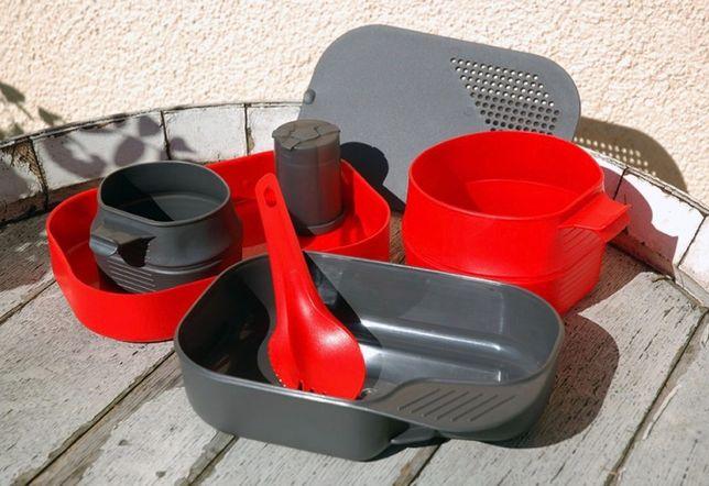 Набор Посуды туристической Wildo Camo-A-Box (10268) Red 7 элементов