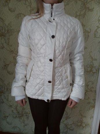Snow Beauty Куртка,пуховик белый ,на натуральном пуху