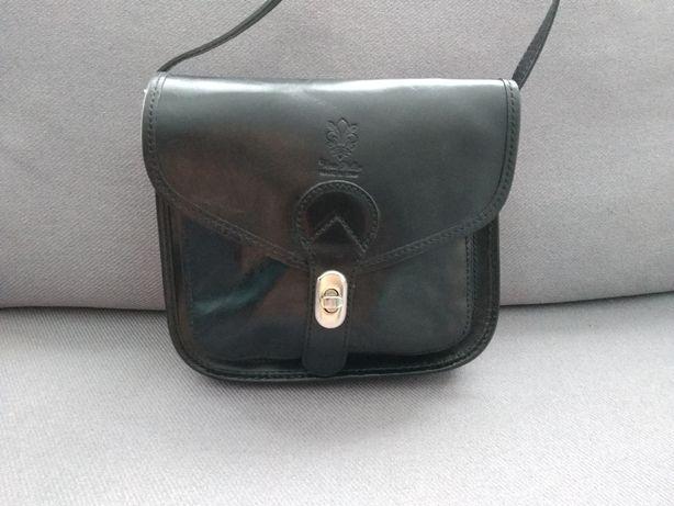 Skórzana torebka włoskiej firmy Vera Pelle