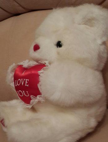 Большая Мягкая Игрушка Мишка со смыслом I Love You / Подарок