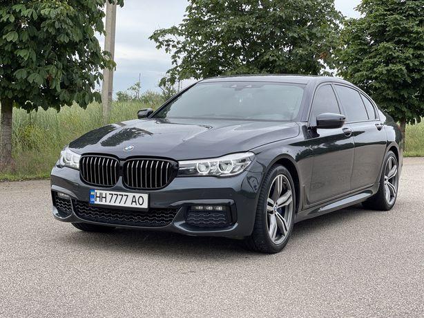 BMW 740 Long 2017год