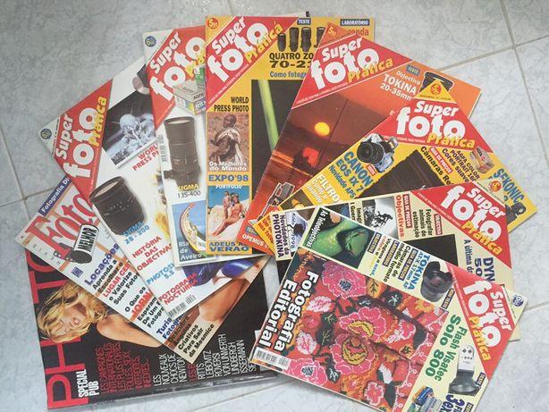Lote de Revistas de fotografia antigas