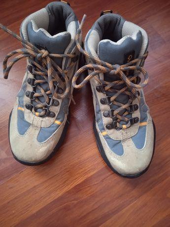 Ботинки треккинговые трекінгові Quechua кеди високі хайтопи ботінки 34